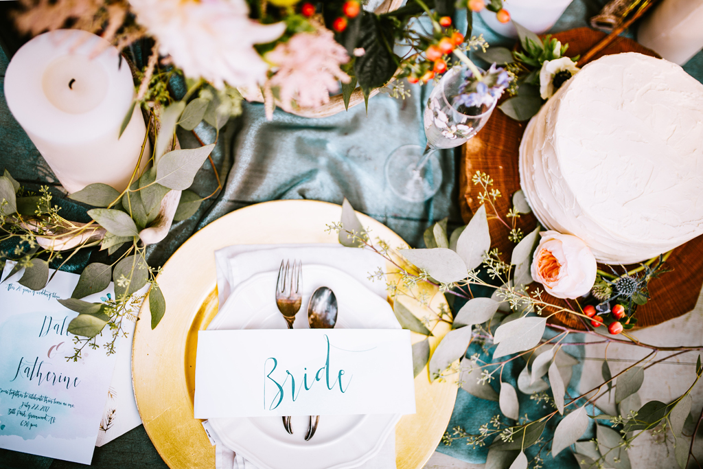 High Tea Wedding Table Setting